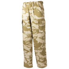 British Army Cargo Combats Trousers Military Cadet Mens Pants DPM Desert Camo