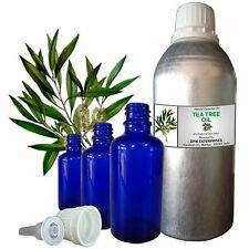 TEA TREE ESSENTIAL OIL 100% Pure Natural Therapeutic Undiluted 5ml to 250m