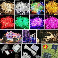 Electric/Solar/Battry Powered LEDs String Fairy Light  Xmas Party Wedding Garden