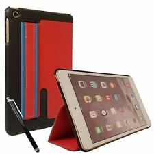 Leather 360° Degree Rotating Smart Stand Case Cover For iPad Mini, Mini 2 / 3