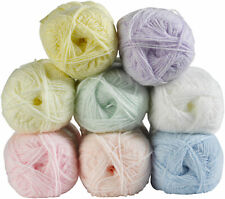 Baby Shimmer DK Double Knit Yarn James Brett Soft Acrylic Knitting 1 or 5 Balls