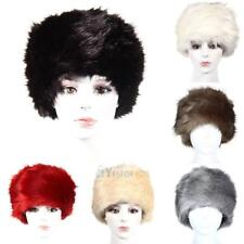 Fashion Women Winter Warm Hat Ladies Faux Fur Russian Cossack Style Cap New #Y