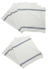 Pack of 100% Cotton Kitchen Cleaning Tea Towels Absorbent Catering Glass Cloths
