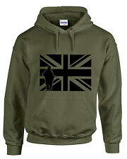 Military patriot hoodie army union jack hoody british flag fashion warm clothing
