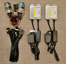 LOW BEAMS 9006 HB4 35W CANBUS NO ERROR SLIM XENON HID KIT 07-08 FOR I-370
