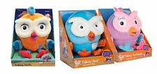 TALKING HOOT or HOOTABELLE 17CM GIGGLE AND HOOT ABC2