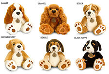 Keel Toys Plush Luxury Forever Puppies Dogs Soft Toy Teddy 6 Designs Brand New