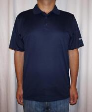Reebok Men's Play Dry Navy Polo Shirt - Size L, XL