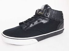 Globe Motley Mid Puzzle Black/White Mens Skateboard Shoes Sneaker