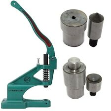 Hand Press Machine and Eyelets/Grommet Tool & Hole Cutter Die Tool Setting