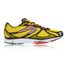 Newton Kismet Mens Red Yellow Cushioned Running Road Sports Shoes Trainers