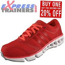 Adidas Womens CC ClimaCool Ride Running Shoes Gym Trainers Berry *AUTHENTIC*