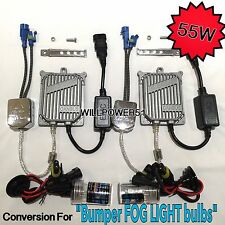 55W H8 CANBUS HID Xenon FOG LIGHTS 13-15 FOR COOPER PACEMAN 3000K 6000K 8000K