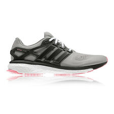 Adidas Energy Boost ESM Womens Pink Grey Running Road Sports Shoes Trainers