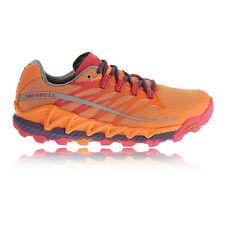 Merrell All Out Peak Womens Orange Trail Running Sports Shoes Trainers Pumps