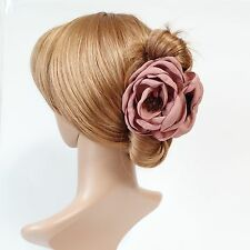 Handmade Peony Root Motivated Pistil Flower Hair Jaw Claw Clip