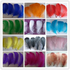 Wholesale 25/50/100pcs natural goose feather floating 10-15cm / 4-6inch