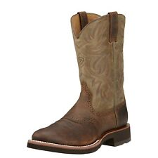 MENS ARIAT HERITAGE CREPE SOLE COWBOY WESTERN BOOTS! 10002559 (39904) NIB!