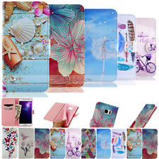 Vogue Crystal Diamond Wallet Leather Stand Case Cover For Samsung S5/S6/A3/A5/A7