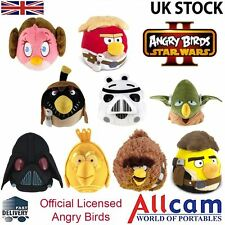 """Angry Birds Star Wars II Official Licensed Cuddly Toy Large 8"""" Plush Soft Toy"""