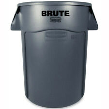 Rubbermaid FG264360 Round Brute Container, 44 Gallon Gray