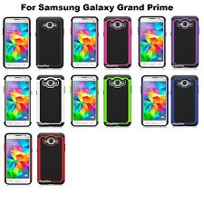 Samsung Galaxy Grand Prime Hybrid Heavy Duty Silicone Hard Cover Case