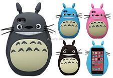 New 3D Cartoon Japan Totoro Silicone Soft Case Cover for Apple iPhone 6 6Plus 5S