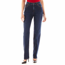 NWT Liz Clairborne Original Fit Tapered Straight through hip & Thigh Jeans $48