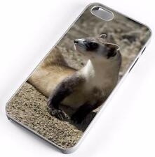 Black Footed Ferret Case Fits Apple iPhones Any Carrier