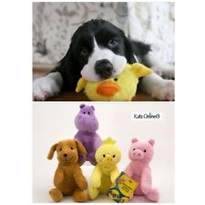Dog Squeaker Plush Toy Pet Cat Puppy Chew Sound Squeaky Play Fetch Training Toys