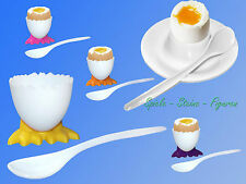 breakfast Set, Egg Cup withegg Spoon , cup with Feet 4,5cm Spoon 14cm NEW