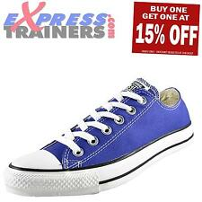 Converse Mens Womens Kids All Star Chuck Taylor Ox Lo Trainers Prple AUTHENTIC