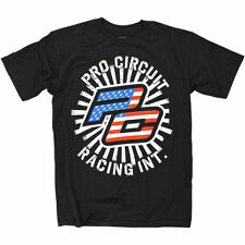Pro Circuit Stars and Stripes Mens Tees Crewneck Short Sleeve T-Shirts