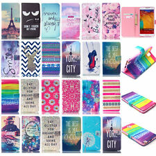 Vogue Design Money Wallet PU Leather Stand Body Case Cover For Samsung Galaxy