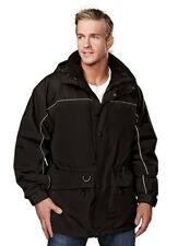 TRI MOUNTAIN Colorado 9100 3 in 1 Parka Jacket Fleece Lined Black Medium or 4XL