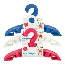 Kids Baby Clothes Hangers Toddler Children Coat Plastic Space Saver 24cm x12cm