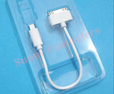 Android Mobile Phone Tablet Micro USB to iPad iPhone iPod Charging Cable Cord
