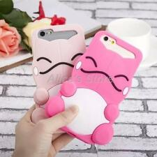 Cute 3D Pocket Strange Tortoise Soft Silicone Case Cover for iPhone 6S 6 Plus 5S