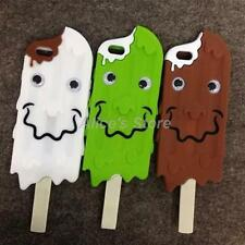 Cute 3D Melt Chocolate Icecream Soft Silicone Case Cover for iPhone 6S 6 Plus 5S