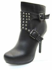 Coco L8633 Ladies Black Studded Ankle Boots *SALE* Now £9.99 ***