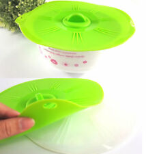 Cup Lid Silicone Seal Lid Microwave Bowl lid Leakproof Lid Cover
