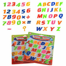 Cute Child Kids Learning Toy Magnetic Letters And Numbers Fridge Magnet Alphabet