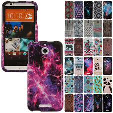 For HTC Desire 510 512 Various Image Design SNAP ON Protector Hard Case Cover