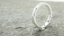 Sterling Silver High Polished 2mm Flat Wedding Band Ring 925 All US Sizes