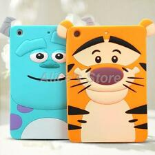 Cartoon Disney Monster Animal Tiger Silicone Soft Case Cover for Apple iPad Mini