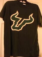 NCAA USF SOUTH FLORIDA BULLS BOY'S OLD VARSITY BRAND GREEN COTTON T-SHIRT NEW