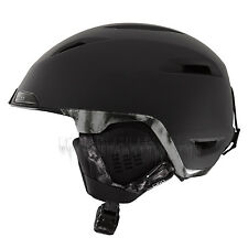 GIRO 2016 Adult Snowboard Matte Black Rocksteady EDIT HELMET
