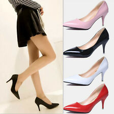 Hot ! New Sexy Womens High Heels Pointed Toe Shallow mouth Stilettos Shoes A32