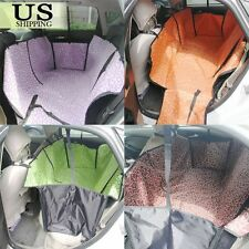 Dog Cat Car Seat Pet Cover Rear Back Mat Cushion Protector Waterproof Hammock