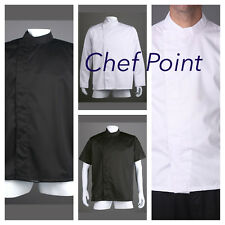 3 PACK CHEF JACKET MODERN STYLE PRESS STUD,SHORT SLEEVE/ LONG SLEEVE CHEF ARMOUR